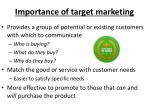 importance of target marketing