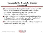changes to the breach notification framework2