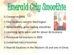emerald city smoothie