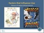 factors that influence use tobacco product enhancement4