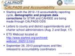 calpads and accountability1