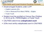 calpads and local control funding formula2