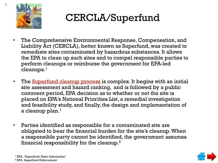 CERCLA/Superfund