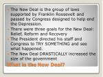 what is the new deal