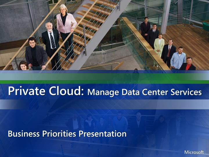 private cloud manage data center services n.