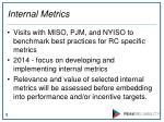 internal metrics