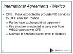 international agreements mexico