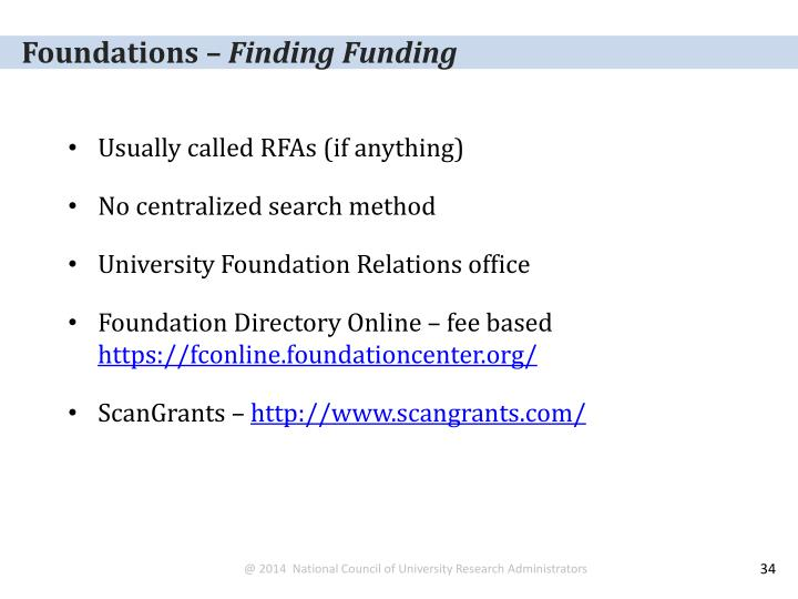 Foundations –