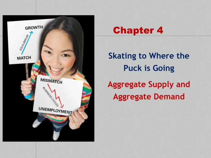 skating to where the puck is going aggregate supply and aggregate demand n.