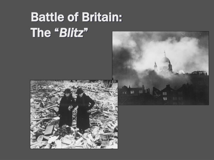 Battle of Britain: