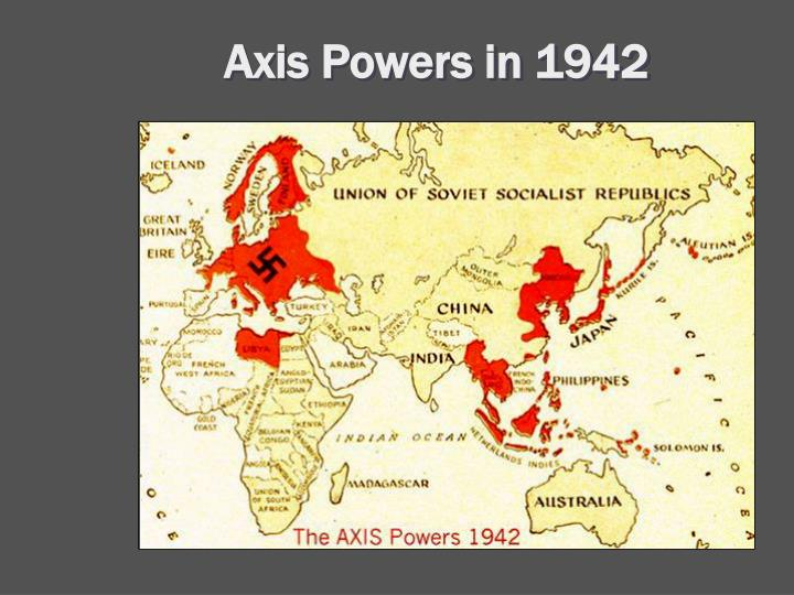 Axis Powers in 1942