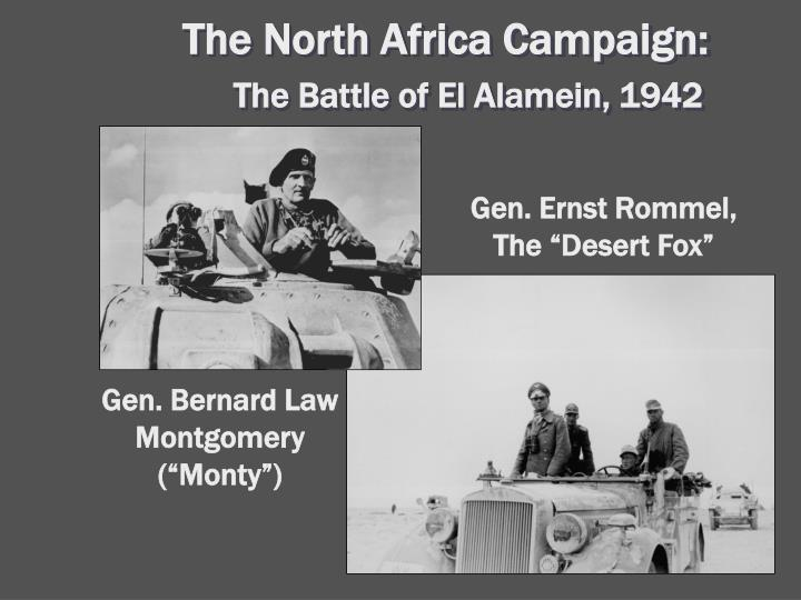 The North Africa Campaign: