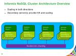 informix nosql cluster architecture overview