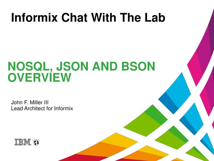 nosql json and bson overview n.