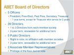 abet board of directors
