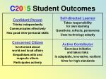 c 2 0 1 5 student outcomes