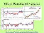 atlantic multi decadal oscillation