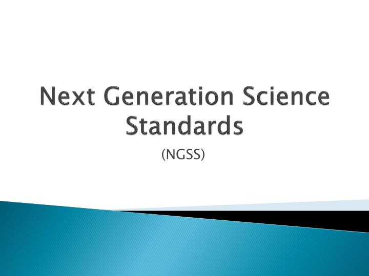 next generation science standards n.