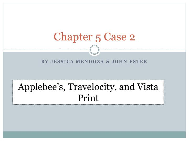 chapter 5 case 2 n.