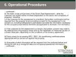 6 operational procedures3