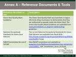 annex a reference documents tools1