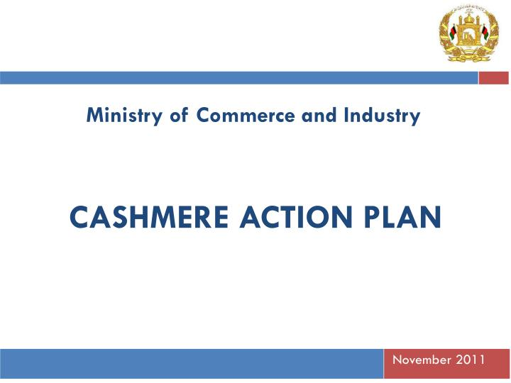 cashmere action plan n.