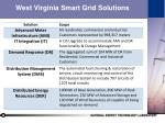 west virginia smart grid solutions