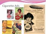 cigarette ads