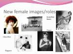 new female images roles