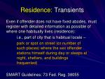 residence transients1