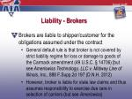 liability brokers