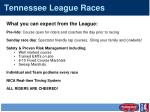 tennessee league races