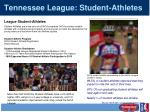tennessee league student athletes