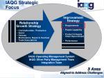 iaqg strategic focus