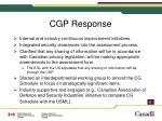 cgp response