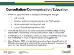 consultation communication education
