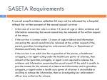 saseta requirements11