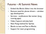 futures ai summit news
