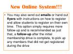 new online system1