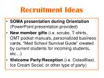 recruitment ideas