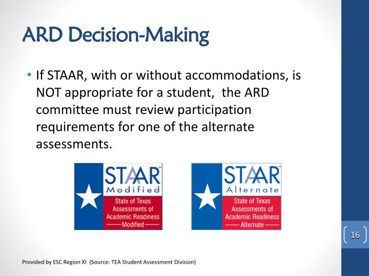 ARD Decision-Making