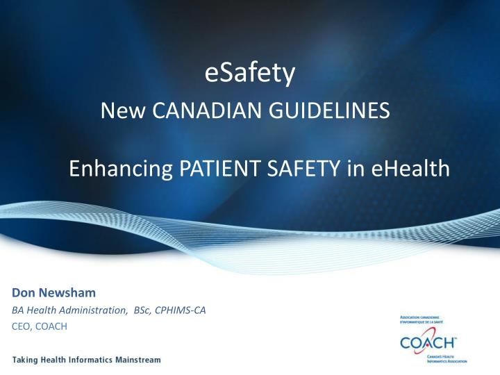 esafety new canadian guidelines n.
