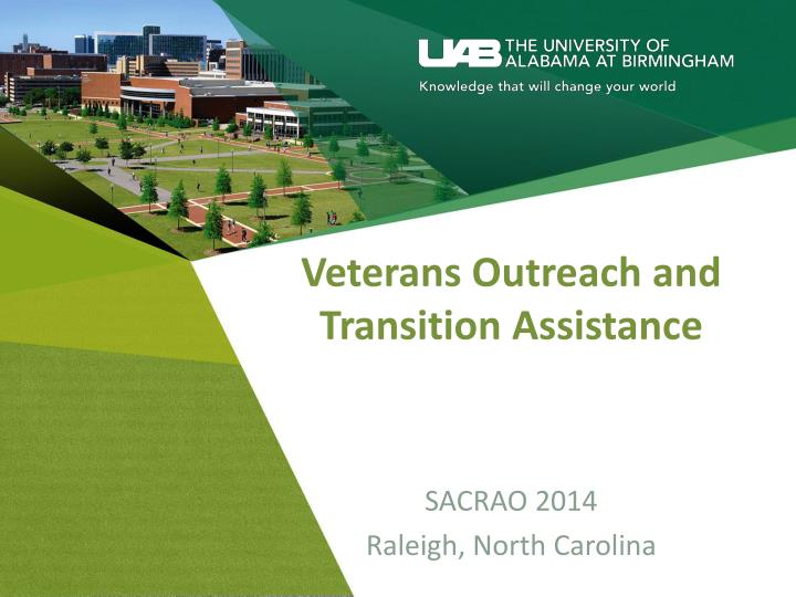 veterans outreach and transition assistance n.