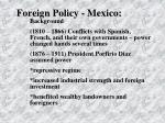foreign policy mexico