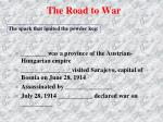 the road to war5