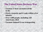 the united states declares war1