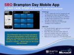 sbo brampton day mobile app