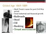 gilded age 1869 1889