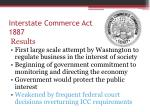 interstate commerce act 18871