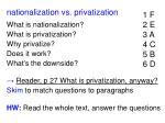 nationalization vs privatization